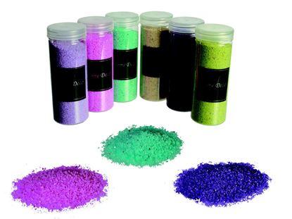 Obrázek Dekorační písek - zelený