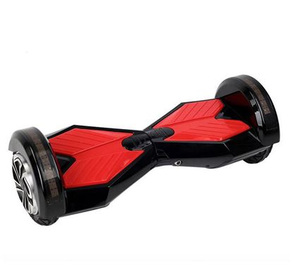 "Obrázek Hoverboard PREMIUM 8"" (black/red) - značková baterie"