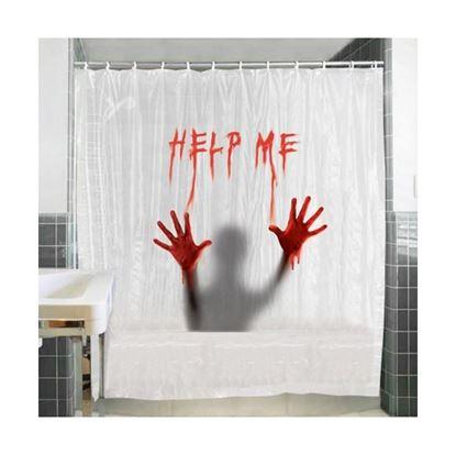 Obrázek Krvavý sprchový závěs