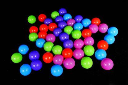 Obrázek Plastové míčky 50 ks (7 cm)