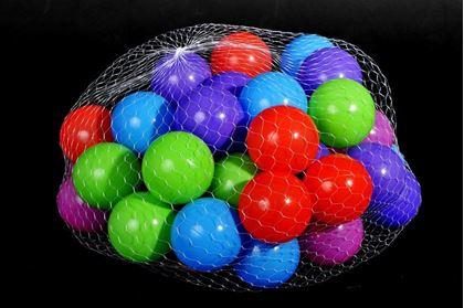 Obrázek z Plastové míčky 50 ks (8 cm)