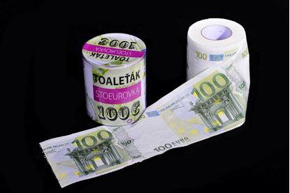 Obrázek Toaletní papír - 100 Eurovka