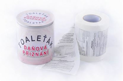 Obrázek Toaletní papír daňové přiznání