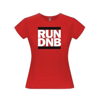 Obrázek Dámské tričko - RUN DNB - červené - L