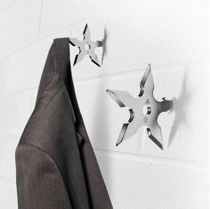Obrázek Věšáček ve tvaru hvězdice Ninja