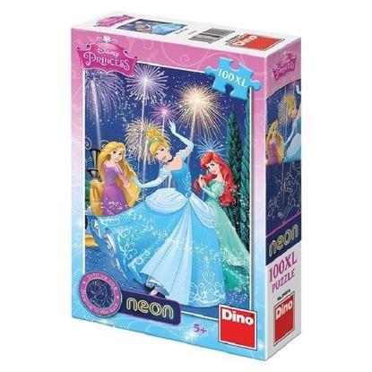 Obrázek Puzzle 100 - Princezny - svítící
