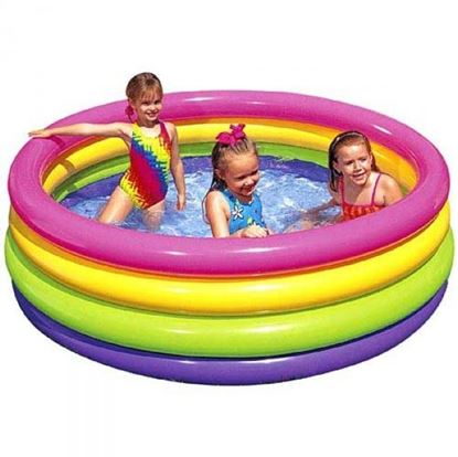 Obrázek Dětský nafukovací bazén - 4 komorový