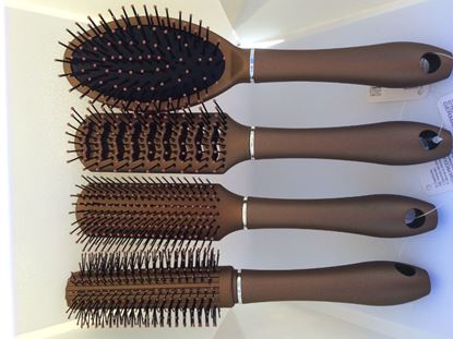 Obrázek Sada kartáčů na vlasy Luxury 4 ks