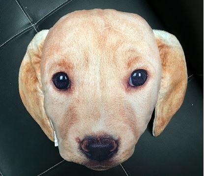 Obrázek Polštář v designu psa - béžový