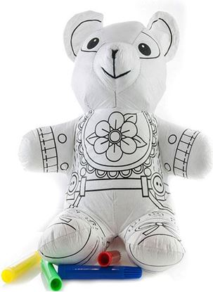 Obrázek Vybarvovací zvířátko - medvěd