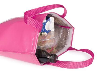 Obrázek Chladicí taška přes rameno - růžová