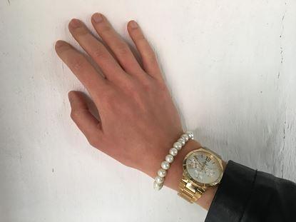 Obrázek Perlový náramek Dala - bílá