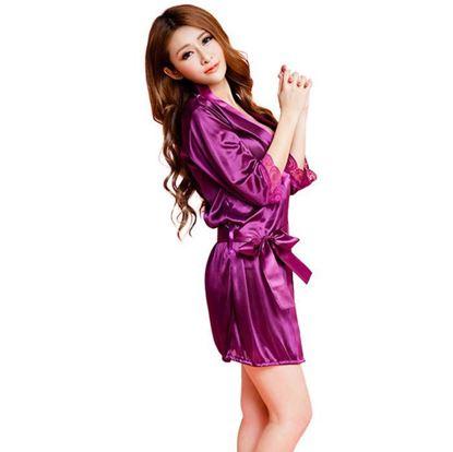 Obrázek Sexy župan - fialový
