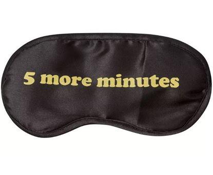 Obrázek Vtipné masky na spaní - 5 more minutes