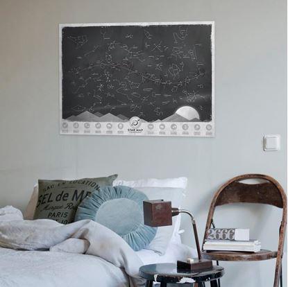 Obrázek Svítící mapa souhvězdí