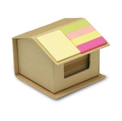 Obrázek Bloček s lepíky - domeček